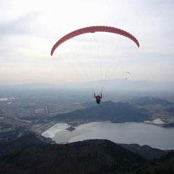 北京蟒山滑翔专业基地