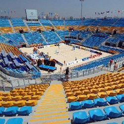 朝阳公园沙滩排球场