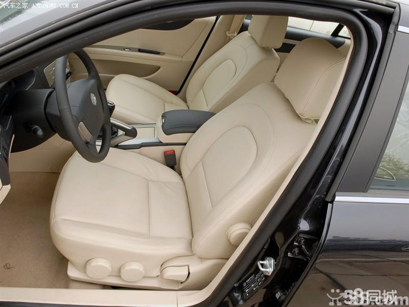 【华晨中华尊驰2008改款 1.8t at豪华型车厢座椅图片】高清图片