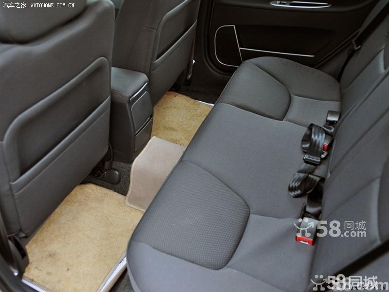 【海马汽车欢动2009款 1.6cvt 舒适型车厢座椅图片】高清图片