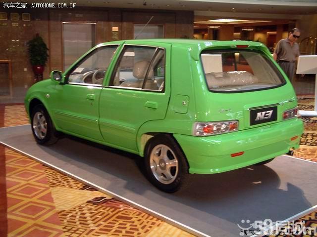 汽车报价-【天津一汽夏利2004款 N3 1.3 两厢基本型车身外观图片】 - 高清图片