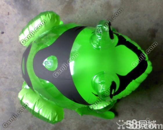 充气青蛙绿色