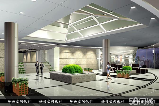 厂房装修效果图 上海纷扬装饰工程有限公司