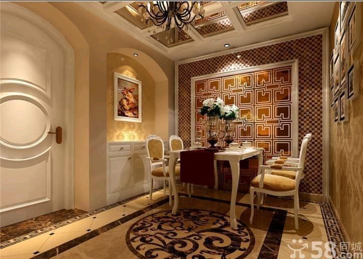 新古典风格餐厅装修