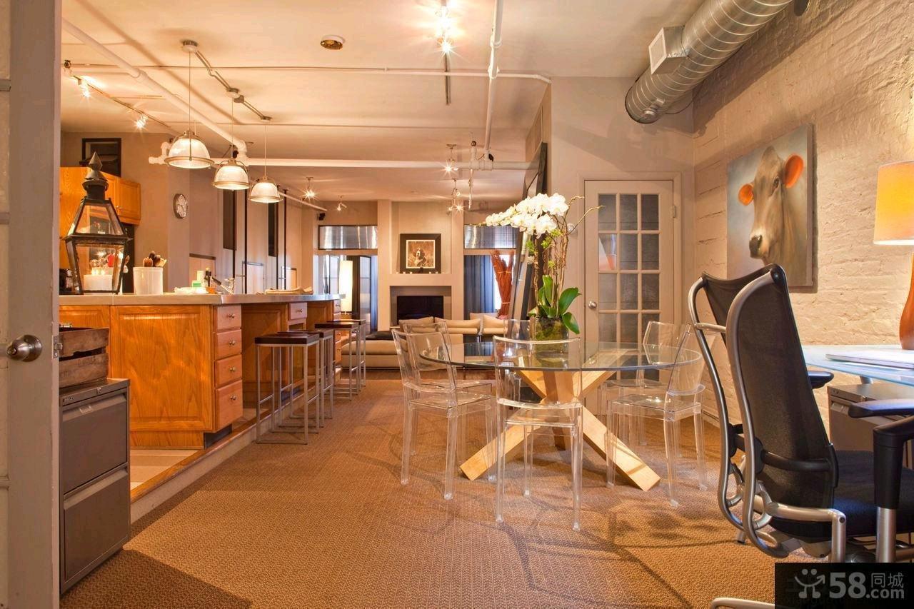 混搭风格三室两厅设计装修图片大全欣赏