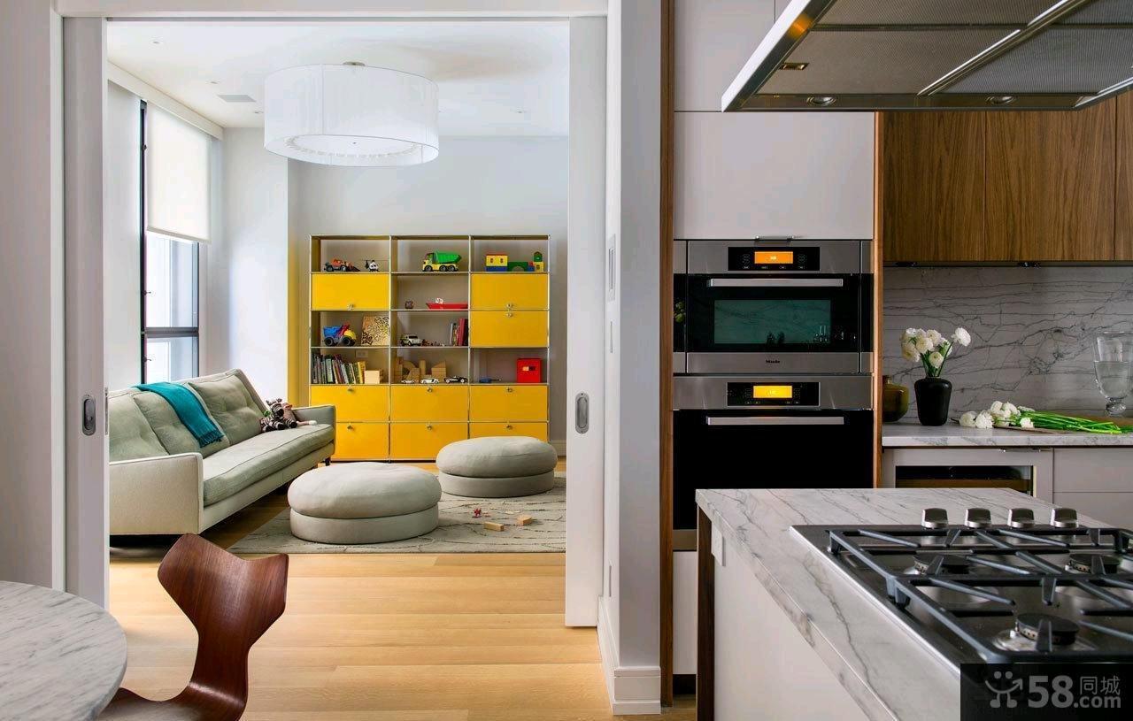 北欧风格四室两厅设计装修图片2015大全