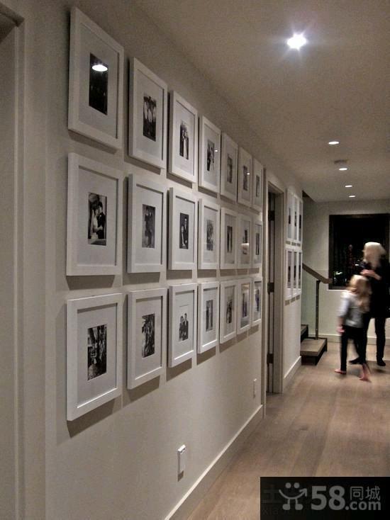 宜家风格室内相片墙装修效果图2015图片