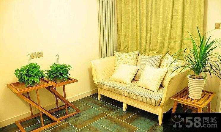 54平米日式风格家居二居室装修效果图