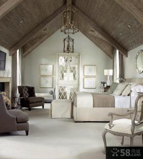 欧式家庭大二居室内设计效果图片