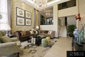 欧式精装修大别墅室内设计效果图