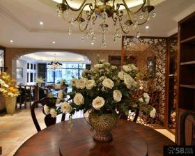 美欧装修设计豪华四室两厅效果图大全