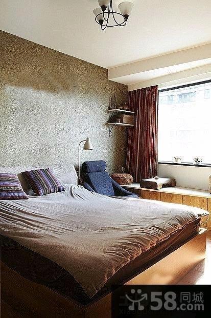 宜家设计装修卧室飘窗效果图