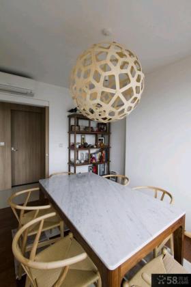 简约家装一居室实木装修效果图