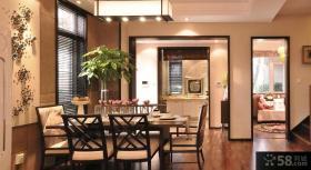豪华新古典设计三居室图片欣赏大全
