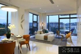 日式风格三室两厅设计效果图大全欣赏