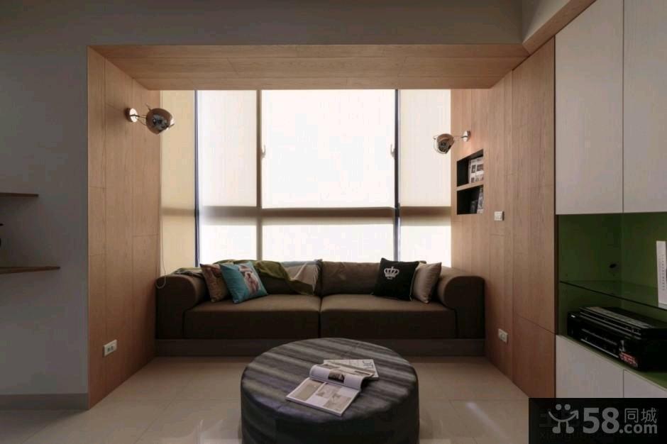 85平米简约风格小两室两厅装修图片大全