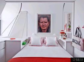 创意色彩混搭两室两厅装修效果图
