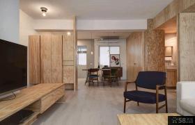 日式风格一室一厅户型家庭装修效果图大全