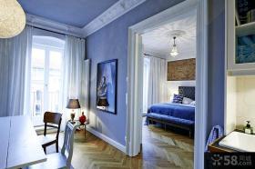 北欧风格装修三室两厅设计效果图大全