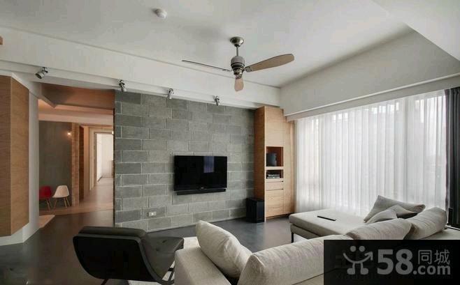 现代装修设计客厅电视背景墙效果图大全