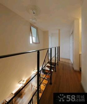 极简日式复式房屋室内装修效果图