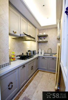 现代时尚厨房橱柜图片