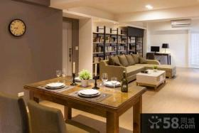 70平米现代风格一居室装修效果图