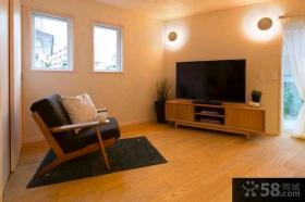 103平米小三室两厅日式装修效果图