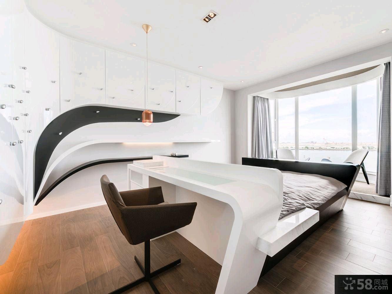 101平米日式三居室家庭装修效果图大全2014图片