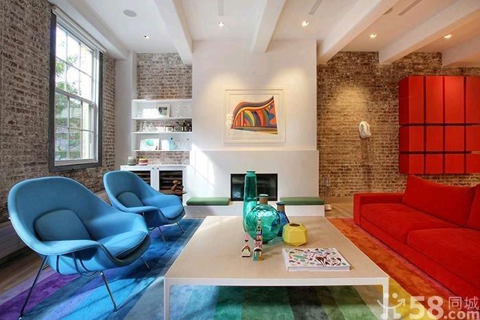 纽约现代普普风公寓