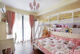 22款粉嫩萌系儿童房装修效果图