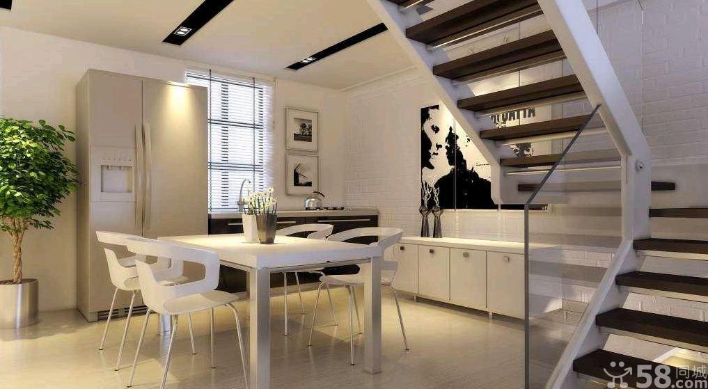 现代复式楼梯装修风格