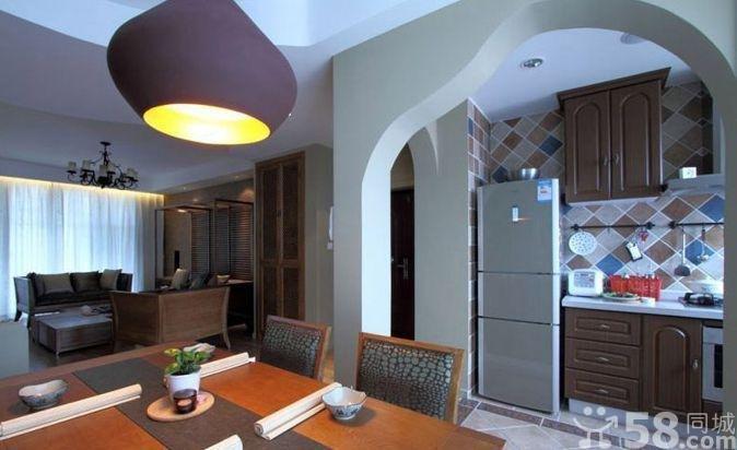 开放式厨房装修风格