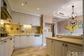 美式风格厨房装修