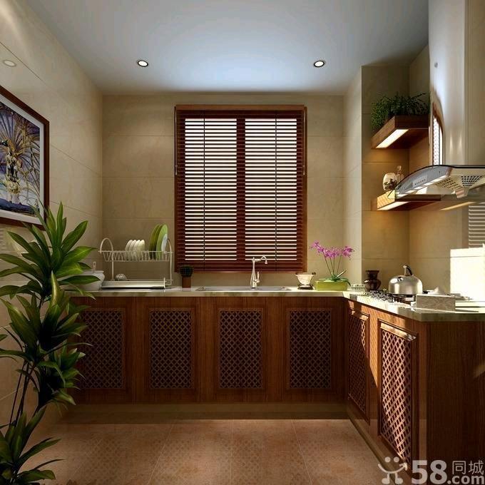 东南亚风格厨房装修