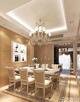 欧式风格餐厅装修