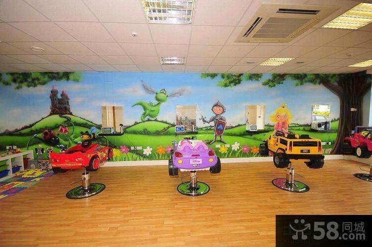 幼儿园外墙装饰画图片