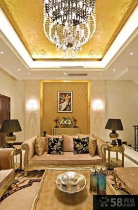 东南亚风格精装别墅室内设计2014