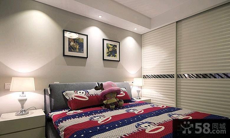 现代灰色调客厅装修设计