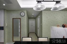 72平米现代欧式风格一居室装修效果图