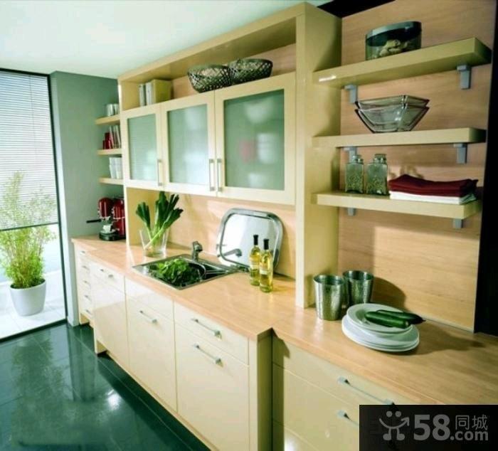 现代风格装修橱柜设计图片