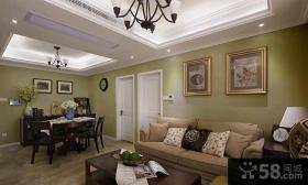 2014最新美式风格二居家庭装修图片