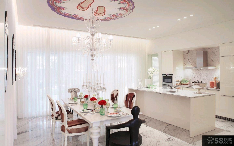 宜家风格120平米三室两厅装修效果图大全