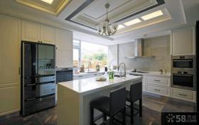 现代新古典风格140平米四居室装修效果图欣赏大全