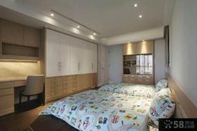 简欧装修设计三居室效果图大全2015图片