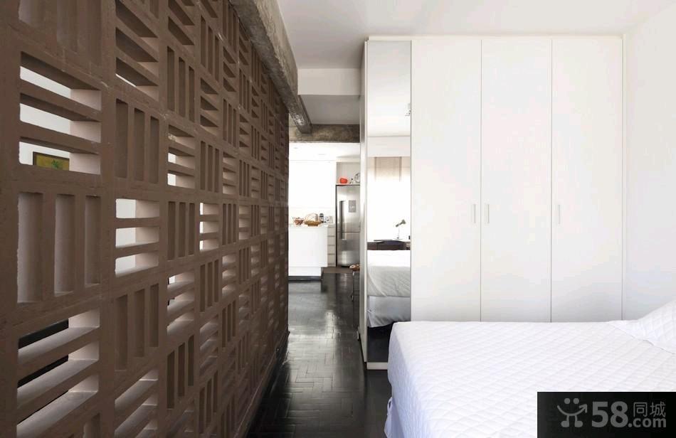 家庭设计卧室隔断装修效果图欣赏