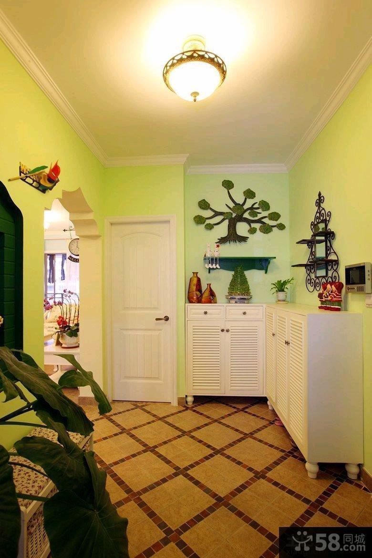 田园风格小两室两厅户型装修