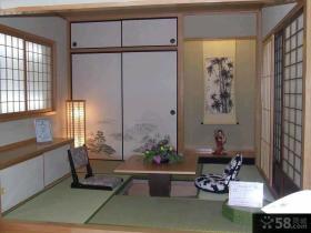 家庭设计日式客厅榻榻米装修效果图2015图片
