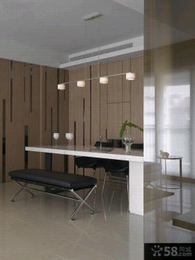 简约风格两室一厅户型家庭装修效果图
