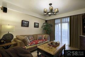 美式一居室家居室内装修图片大全